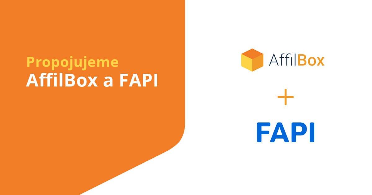 Propojujeme AffilBox a FAPI