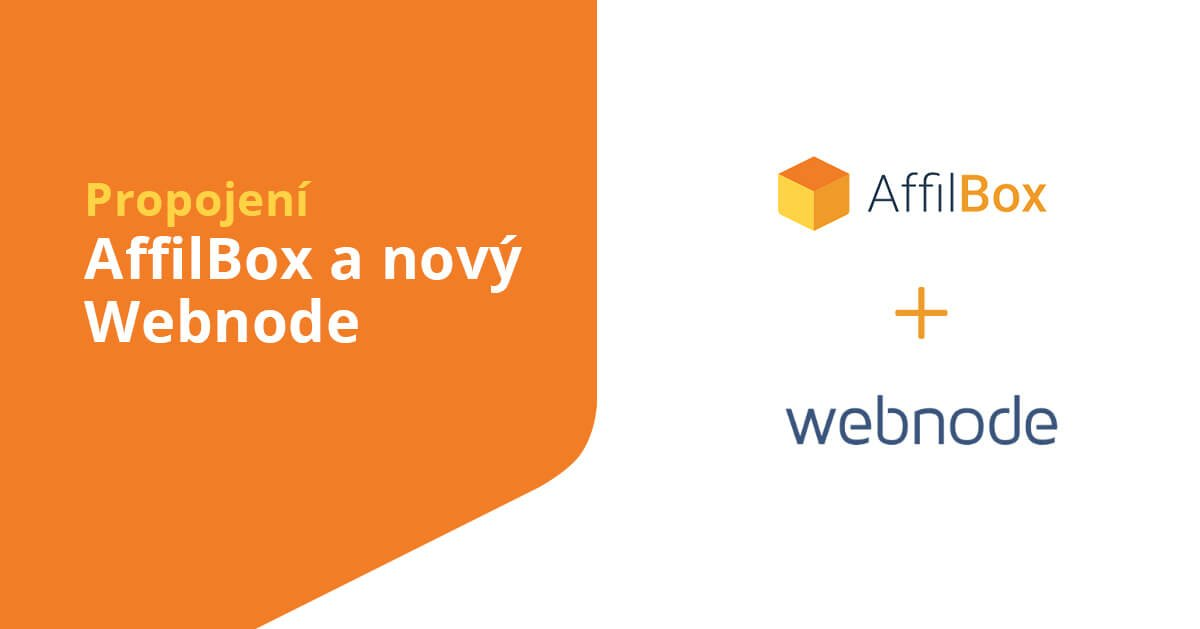 AffilBox a nová verze e-shopu Webnode