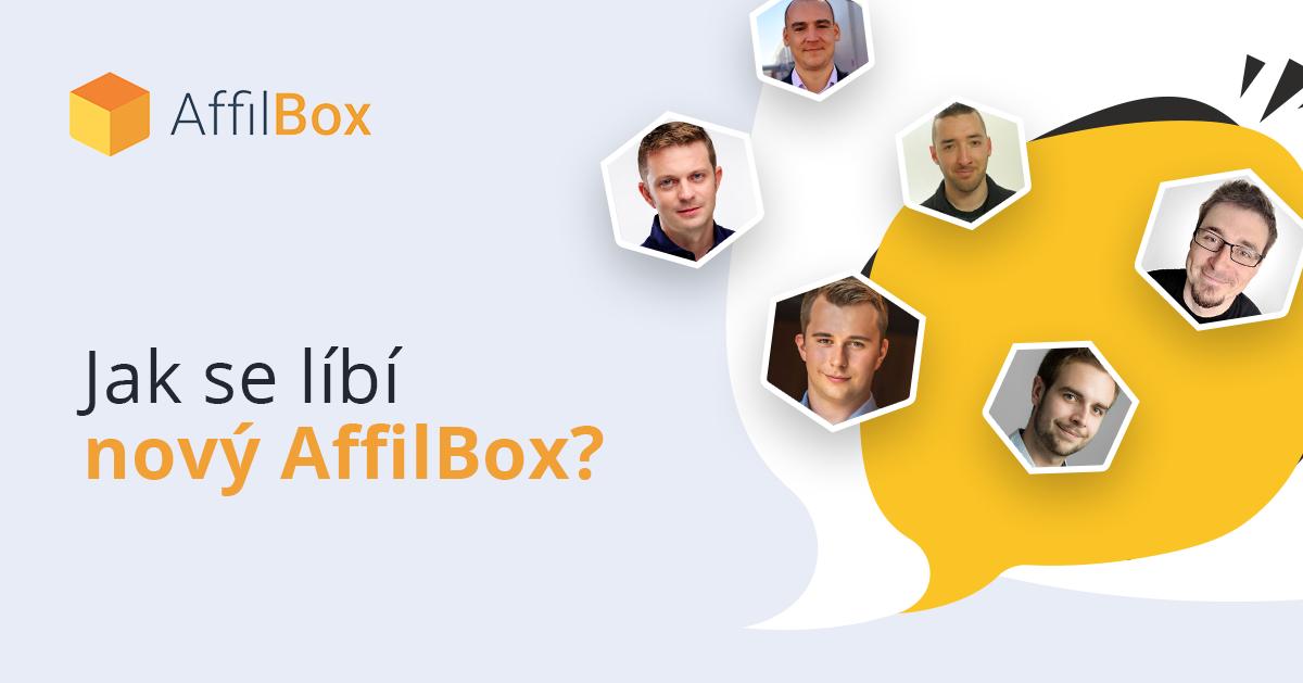 Jak se líbí nový AffilBox?