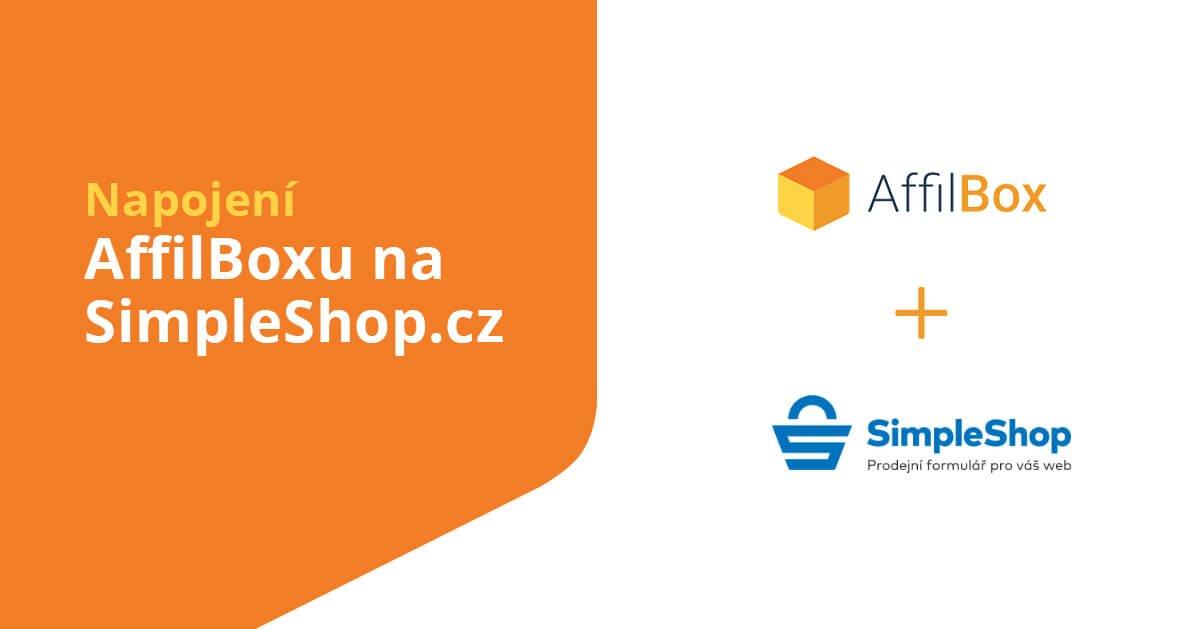 Napojení AffilBoxu na SimpleShop.cz