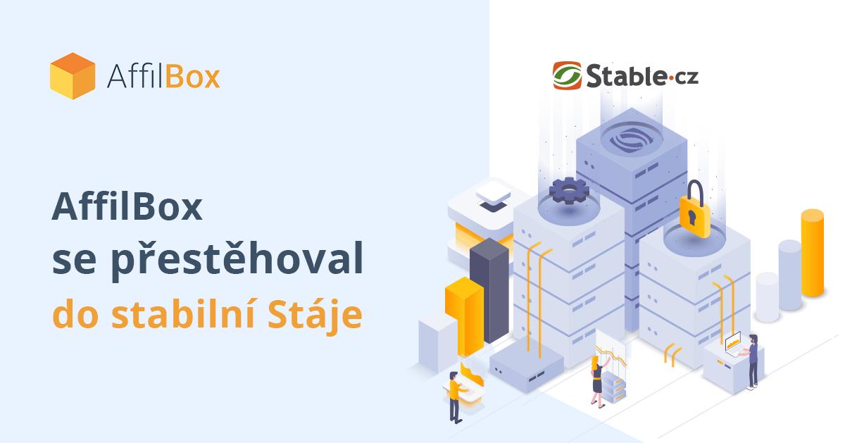 AffilBox se přestěhoval do stabilní Stáje