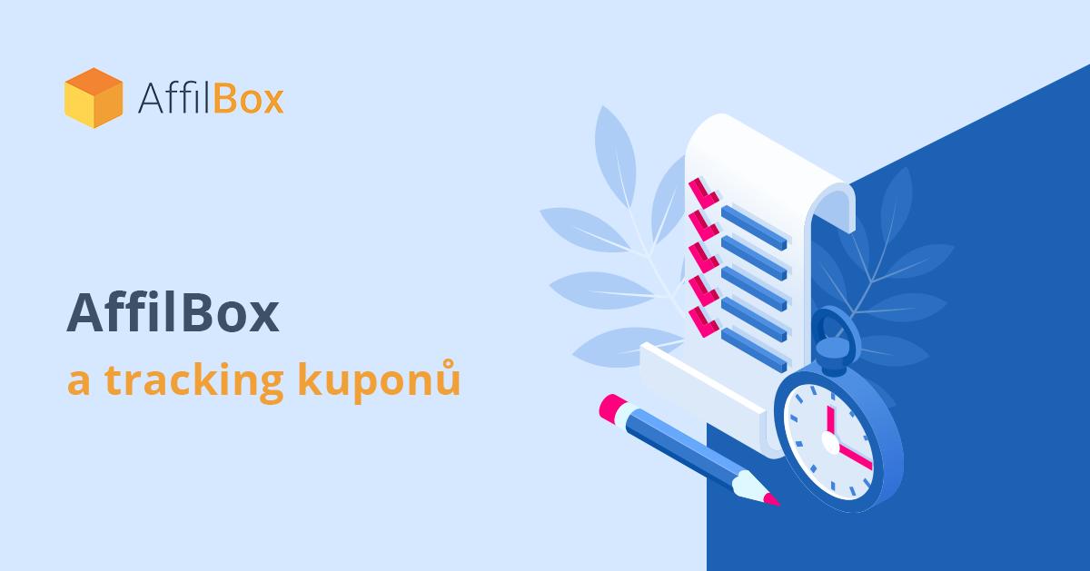 Tracking kuponů díky AffilBoxu