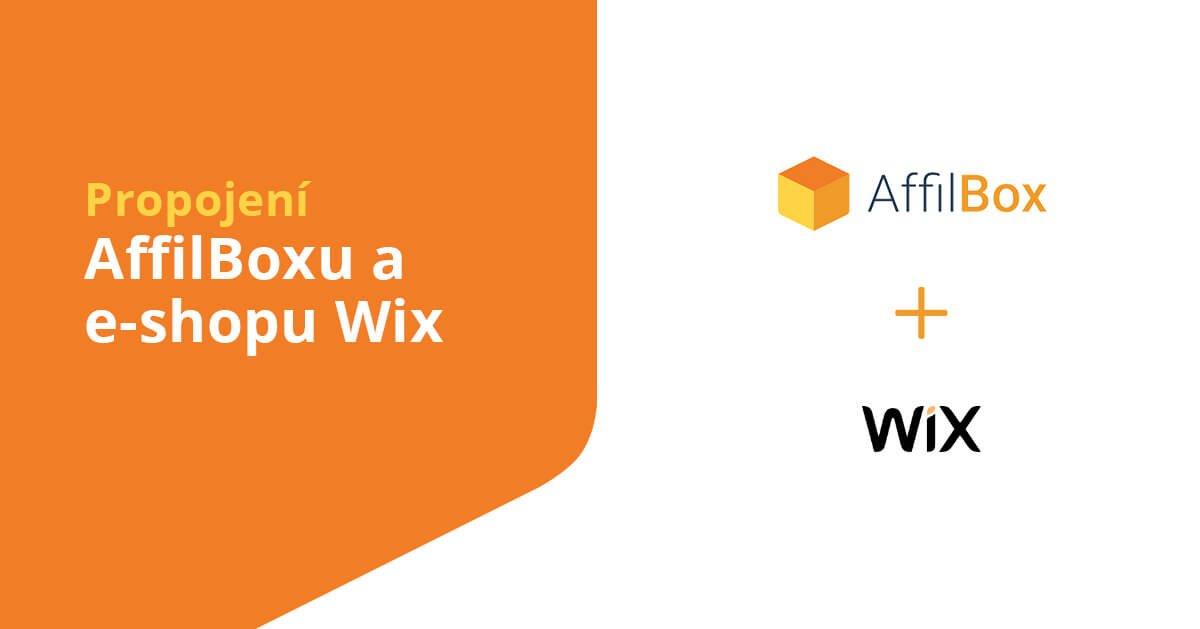 Propojení AffilBox a e-shopu Wix