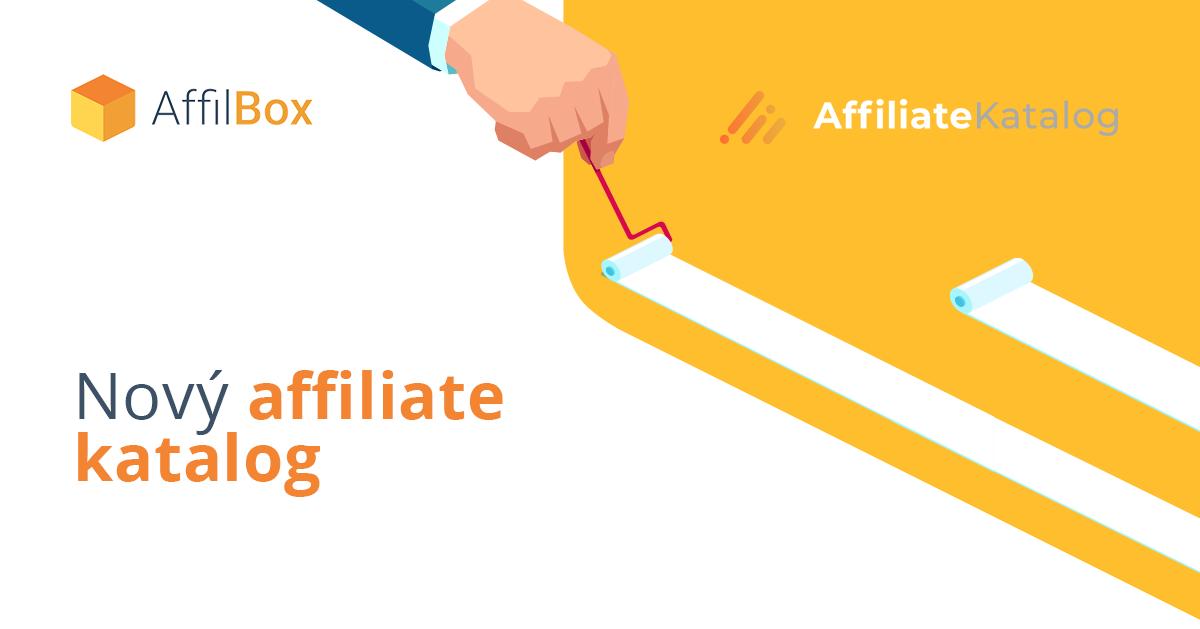 Nový Affiliatekatalog.com – seznam partnerských kampaní