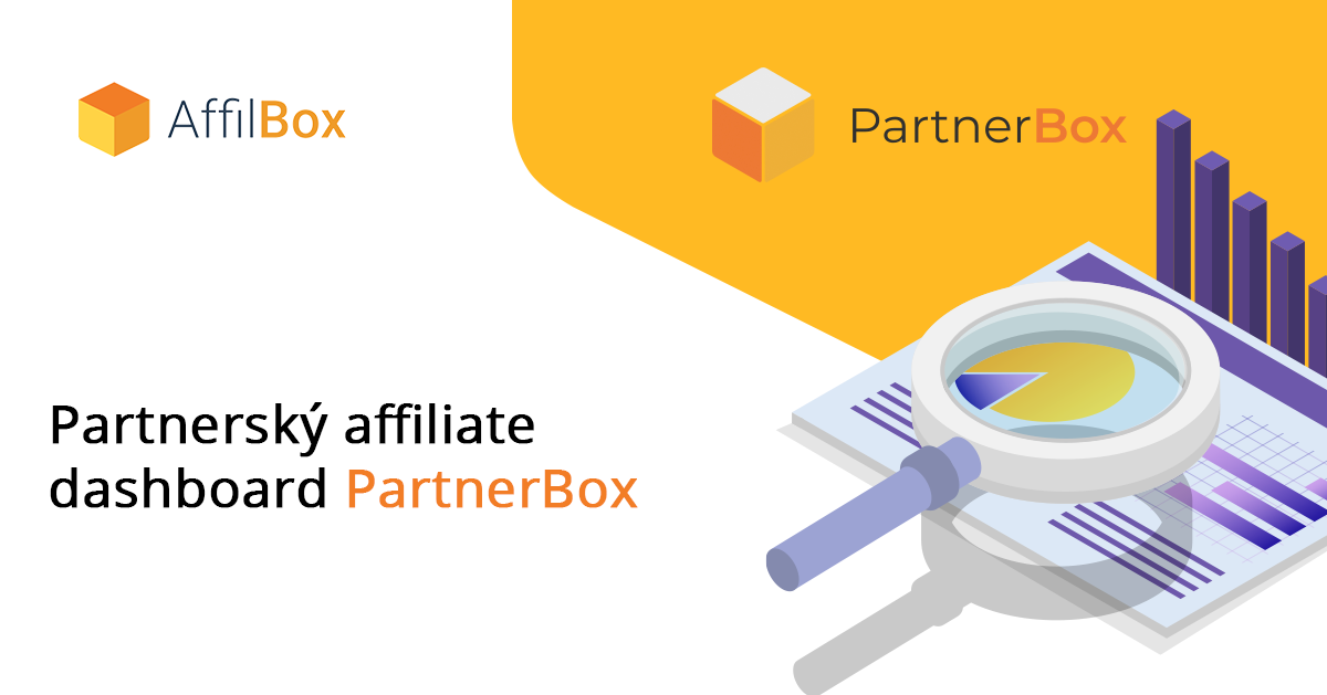 Spustili jsme affiliate dashboard PartnerBox!